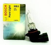 Галогенная лампа HB3 60W 12V P20d Pure Light    Bosch 1 987 302 152  Германия (картонная упаковка)