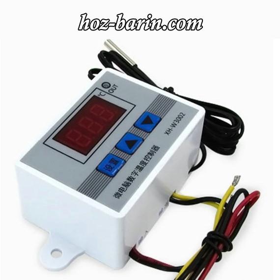 Терморегулятор цифровой XH-W3002 220В (-50...+110) с порогом включения в 0.1 градус