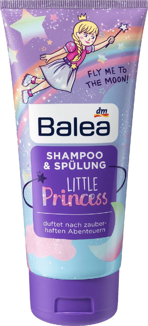 Шампунь - кондиционер Balea Little Princess, 200 мл.