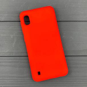 Силиконовый чехол на Samsung A10 / A105 Red, фото 2