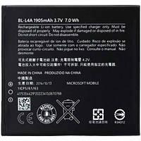 Аккумулятор Microsoft BL-L4A. Батарея Microsoft BL-L4A (1905 mAh) для Lumia 535 540. Original АКБ (новая)