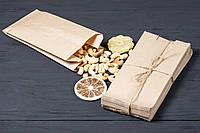 Бумажные пакеты для сухофруктов и специй 100 мм*70 мм*230 мм