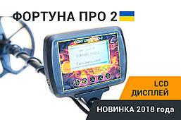 Металлоискатель Фортуна ПРО-2 LCD-дисплей 7*4 FM трансмиттер,металошукач, фото 2