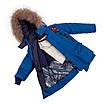 Зимний комбинезон для мальчика 22-28 джинс, фото 2