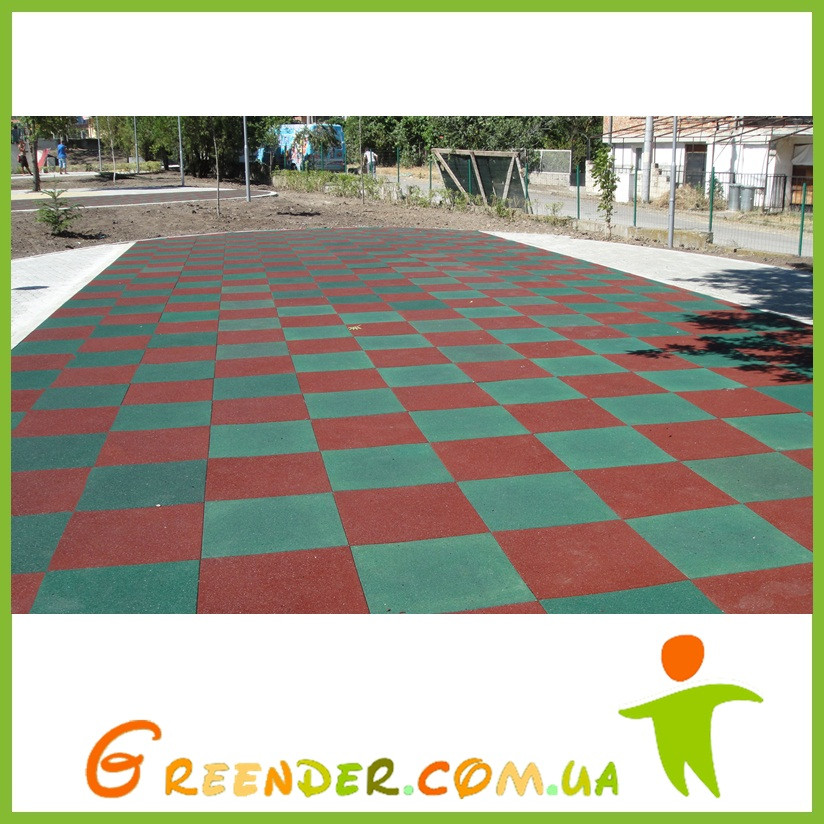 Модульное покрытие для детских игровых и спортивных площадок на улице