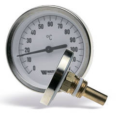 Термометр Биметаллический с Погружной Гильзой Watts T6350
