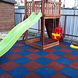 Модульное покрытие для детских игровых и спортивных площадок на улице, фото 2