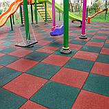 Модульное покрытие для детских игровых и спортивных площадок на улице, фото 3