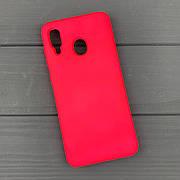 Силиконовый чехол на Samsung A20 / A205 Rose