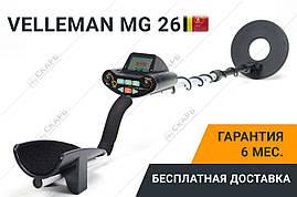 Металлоискатель Velleman MG 26, фото 2