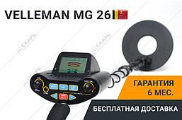 Металлоискатель Velleman MG 26, фото 3