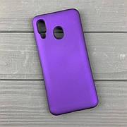 Силиконовый чехол на Samsung A20 / A205 Violet