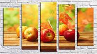 "Модульная картина на холсте ""Яблоки 3"""