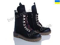 """Ботинки зимние женские """"Stella"""" #F1. р-р 36-40. Цвет черный. Оптом"""