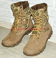 Армейские берцы (ботинки)! Натуральная кожа+ткань. Размеры 40,41,42,43,44,45. Новые., фото 1