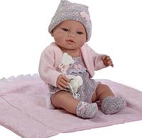 Кукла Пупс с одеялом BERBESA  42 см