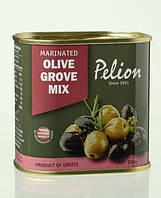 Маслины и оливки ассорти с добавлением оливкового масла. 290/145 г
