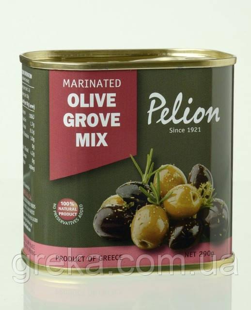 Маслины и оливки ассорти в оливковом масле.290/145 г
