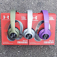 JBL UA67 (UNDER ARMOR) Беспроводные Bluetooth наушники  FM MP3 microSD/TF