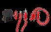 Физиотерапевтический аппарат (гальванизация и электрофорез) ЭЛФОР-ПРОФ, фото 3
