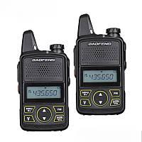 Портативная радиостанция Baofeng BF T1 Mini, комплект