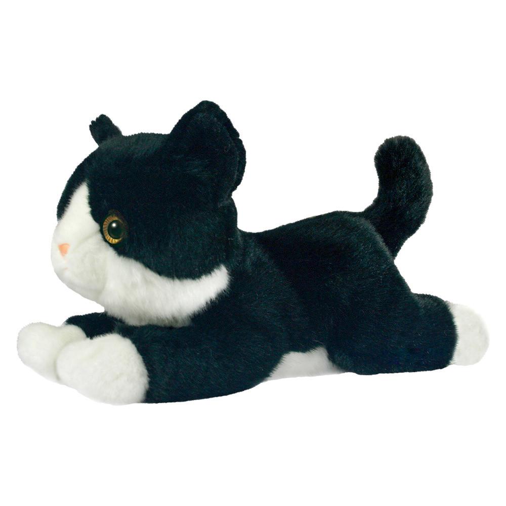 М'яка іграшка Aurora Кошеня чорно-білий 25 см 150224B