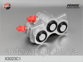 Цилиндр тормозной передний ВАЗ 2121, 21213, 21214, 2123 Нива Шевроле правый Classic, алюминевый