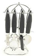 Кухонный набор A-Plus 1720 8 предметов с пластиковыми ручками