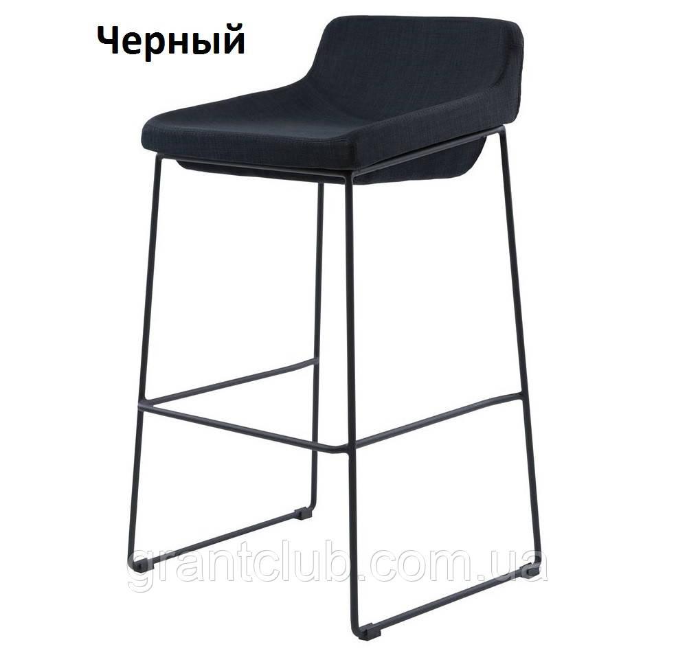 М'який стілець барний COMFY чорний Concepto