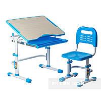 Комплект парта + стул трансформеры Vivo Blue FUNDESK, фото 1