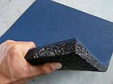 Резиновая плитка 500х500х10 мм, 10 кг/м², фото 4