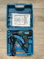 Шуруповёрт сетевой Makita TD0101F ( Кейс + Доп щётки в комплекте)
