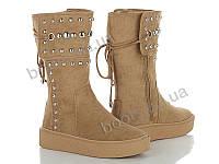"""Ботинки демисезонные женские """"Violeta"""" #20-428 KHAKI. р-р 36-41. Цвет хаки. Оптом"""