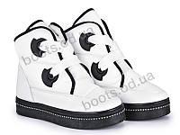 """Ботинки зимние женские """"Violeta"""" #20-601 white. р-р 36-41. Цвет белый. Оптом"""