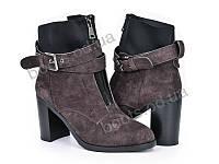 """Ботинки зимние женские """"Violeta"""" #96-2 brown. р-р 36-40. Цвет коричневый. Оптом"""