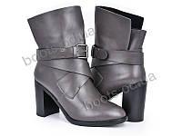 """Ботинки зимние женские """"Violeta"""" #96-3 grey. р-р 36-40. Цвет серый. Оптом"""