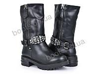 """Ботинки зимние женские """"Violeta"""" #96-15 black. р-р 36-40. Цвет черный. Оптом"""
