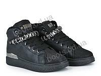 """Ботинки демисезонные женские """"Violeta"""" #20-600 black. р-р 36-41. Цвет черный. Оптом"""