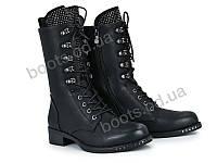 """Ботинки зимние женские """"Violeta"""" #94-3 black. р-р 36-41. Цвет черный. Оптом"""