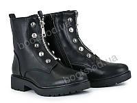 """Ботинки зимние женские """"Violeta"""" #94-5 black. р-р 36-41. Цвет черный. Оптом"""