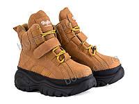 """Ботинки демисезонные женские """"Violeta"""" #98-1 brown. р-р 36-41. Цвет коричневый. Оптом"""