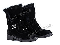 """Ботинки демисезонные женские """"Violeta"""" #87-05 black. р-р 36-40. Цвет черный. Оптом"""