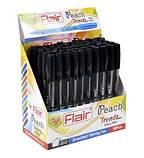 Ручка шариковая Flair Peach 1мм черная, фото 2