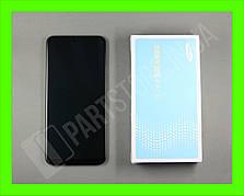 Дисплей Samsung А50 Black А505 2019 (GH82-19204A) сервисный оригинал в сборе с рамкой