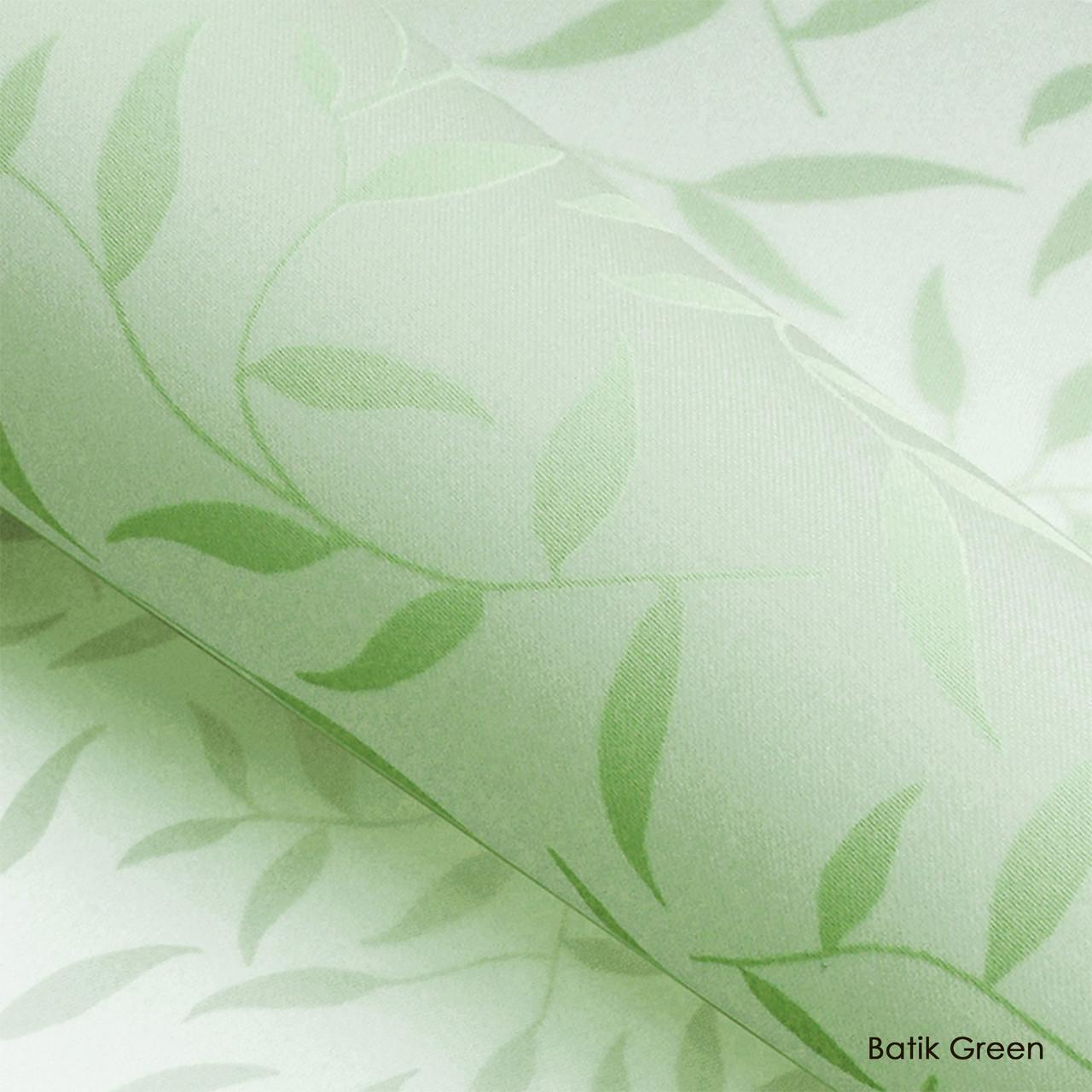 Тканевые роллеты Batik Green