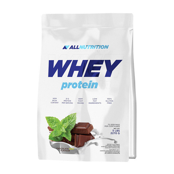 Протеин сывороточный Whey Protein (2,27 kg) All Nutrition