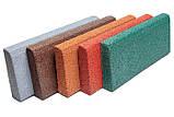 Резиновый бордюр 500х200х40 мм; 8 кг/м.пог, фото 4