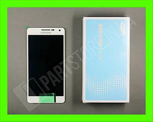 Дисплей Samsung а500 White а5 2015 (GH97-16679A) сервисный оригинал, фото 2