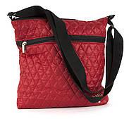Небольшая вместительная женская стеганая сумка  art. 22