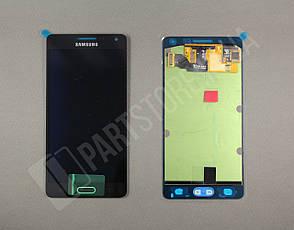 Дисплей Samsung а500 Black а5 2015 (GH97-16679B) сервисный оригинал, фото 2